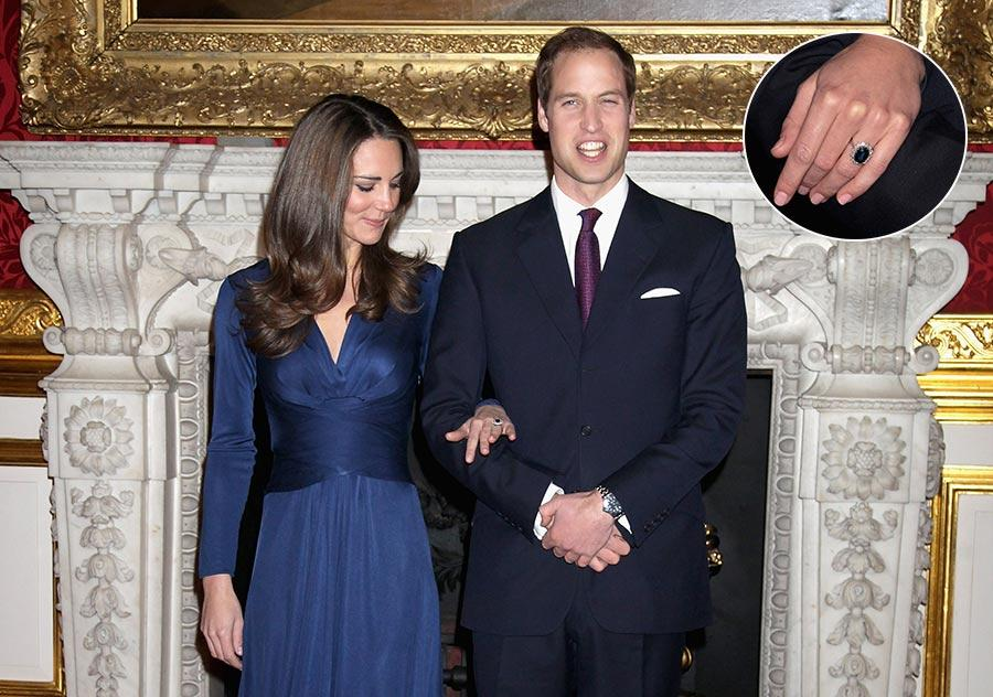 kate middleton engagement ring z