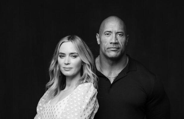 Dwayne Johnson, Emily Blunt Superhero Package 'Ball and Chain' Lands at Netflix