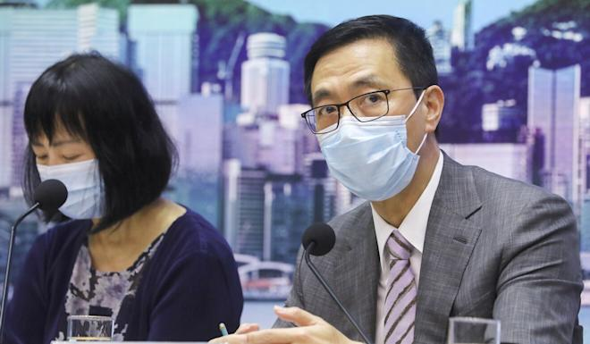 Education secretary Kevin Yeung on Wednesday defended the decision to strip a teacher of their registration for discussing Hong Kong independence in a lesson plan. Photo: Dickson Lee