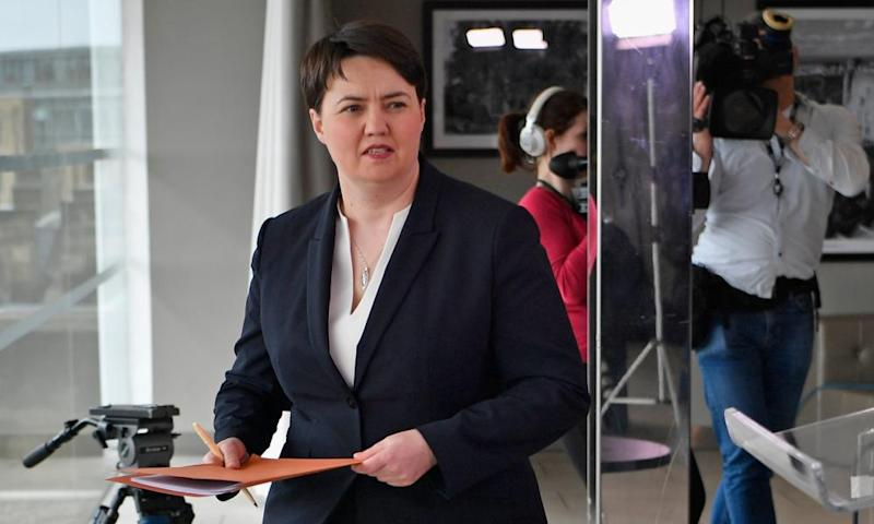 Ruth Davidson said after spending 10 years as a journalist and six as a politician she was not sure she could combine them both.