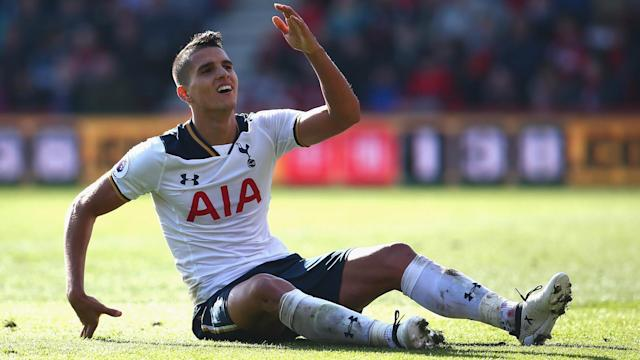 Tottenham winger Erik Lamela has posted a positive update on his fitness after undergoing surgery on a hip injury.