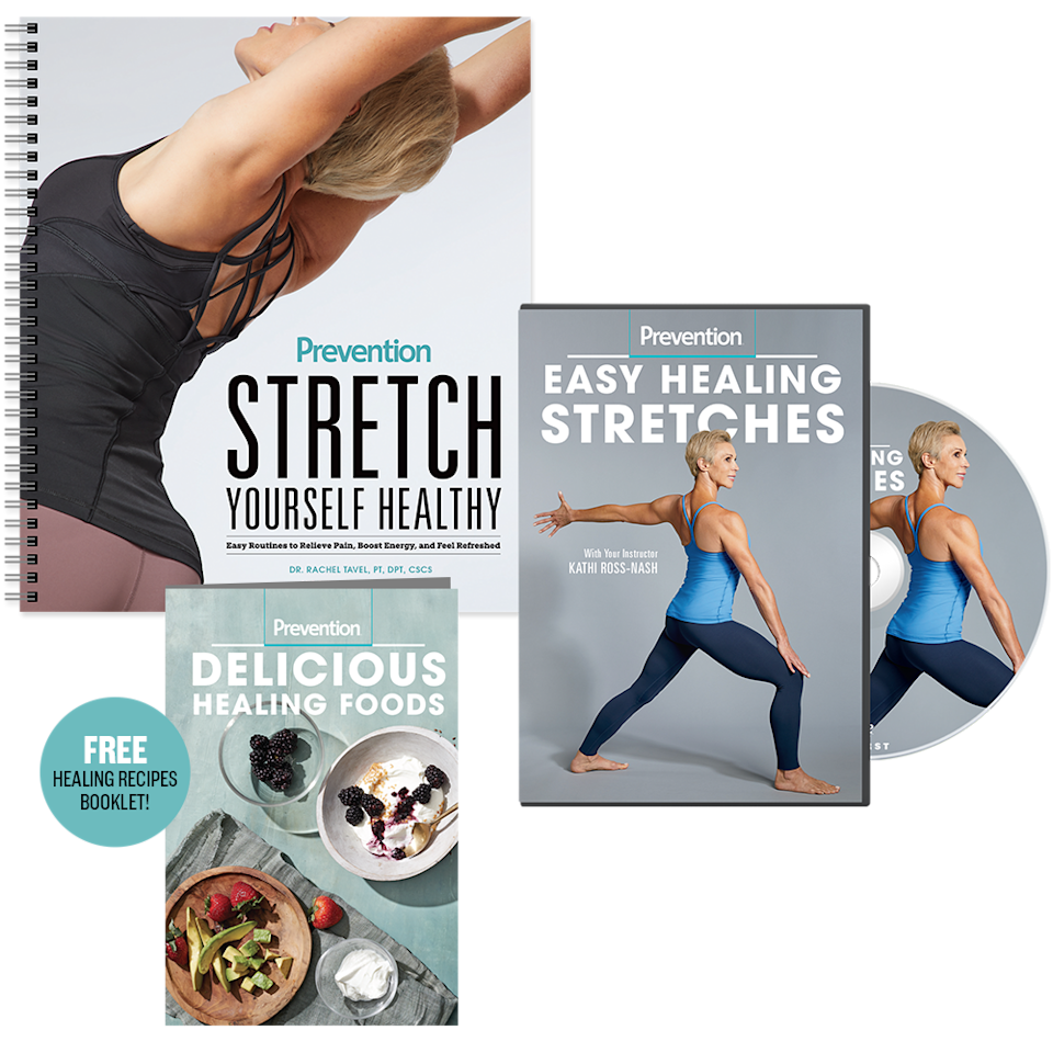 15) Try Prevention's Ultimate Stretching Program!