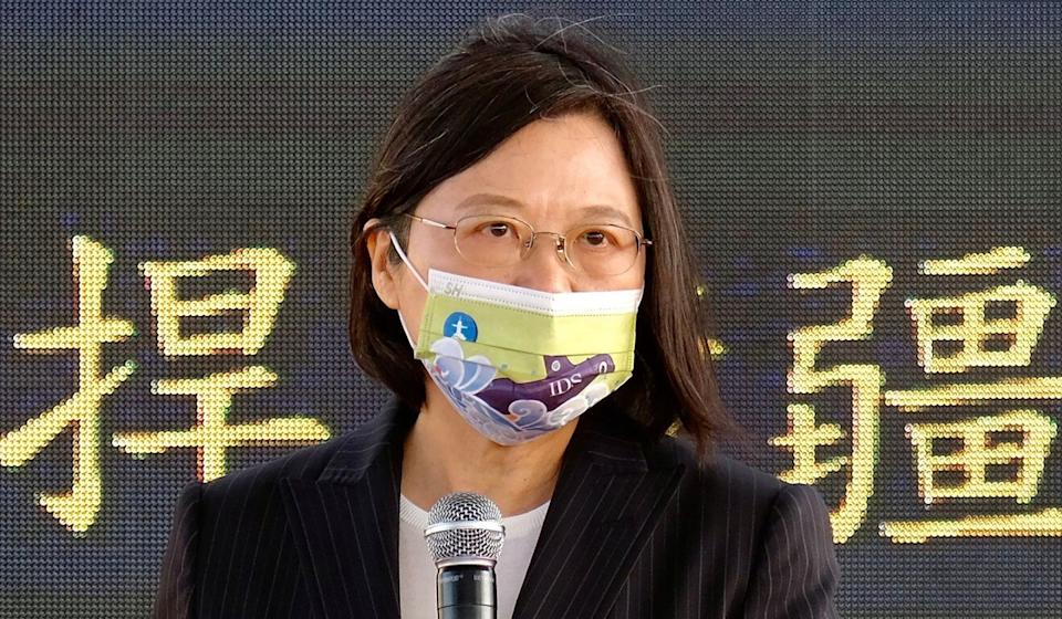 Taiwanese President Tsai Ing-wen has refused to accept the one-China principle. Photo: AFP