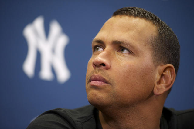 Alex Rodriguez was ultimately suspended 165 games for his alleged use of steroids with the Biogenesis clinic in Florida. (Mark Makela/Corbis via Getty Images)
