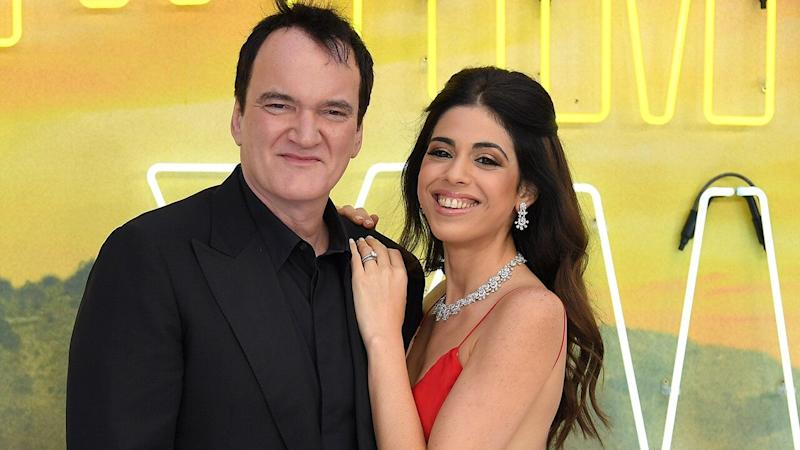 Director Quentin Tarantino is expecting his first child