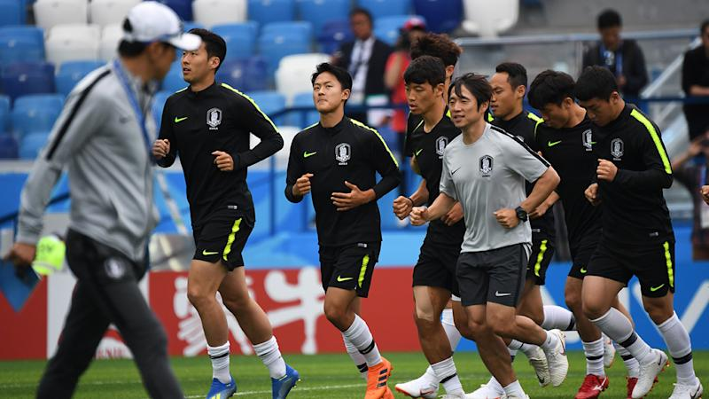 Ki says 'weakest in group' Korea aware of mighty task ahead