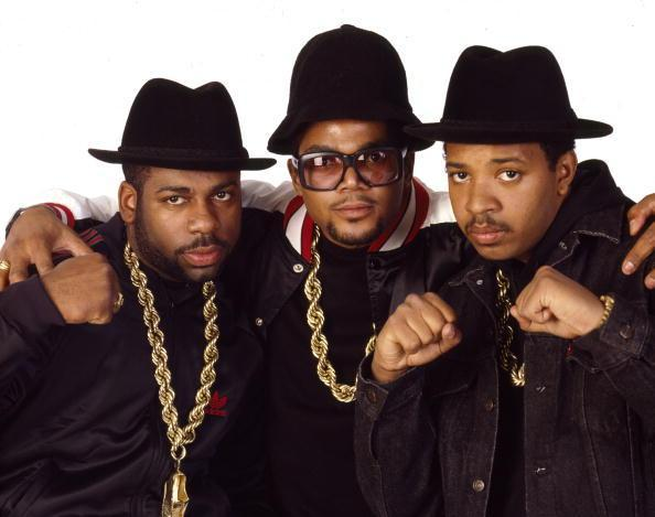 Rap group Run-DMC poses for a photo in 1986. (Photo: Janette Beckman/Getty Images)