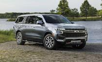 "<p>The new generation <a href=""https://www.caranddriver.com/chevrolet/suburban"" rel=""nofollow noopener"" target=""_blank"" data-ylk=""slk:Chevy Suburban"" class=""link rapid-noclick-resp"">Chevy Suburban</a> is here, and it's a giant way to get dirty. The Z71 trim starts at around $63,000, and is powered by a 355-hp V-8 mated to a 10-speed automatic transmission. Regretfully the 3.0-liter Duramax Diesel offered on every other Suburban, is off limits for Z71. It's easy to tell the Z71 apart from other trims, thanks to its red recovery loops and a skid plate that pokes out from under the special front bumper cover. The front bumper has a higher approach angle than other trims to help with climbing over stuff. A two-speed transfer case provides traditional four-wheel drive, and it also comes standard with 20-inch wheels with all-terrain tires. The Z71 has an optional air suspension that allows an additional two inches of ride height while in 4LO in case you find yourself between a rock and a hard place.</p>"