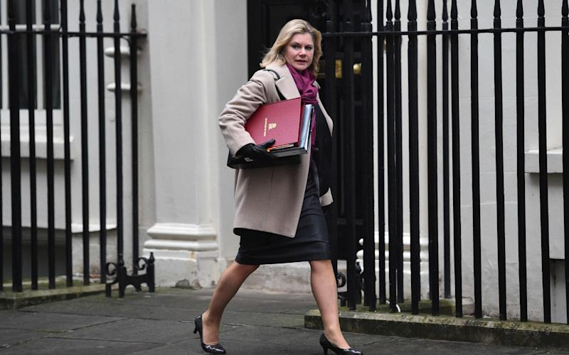 Education Secretary Justine Greening - Credit: GLYN KIRK