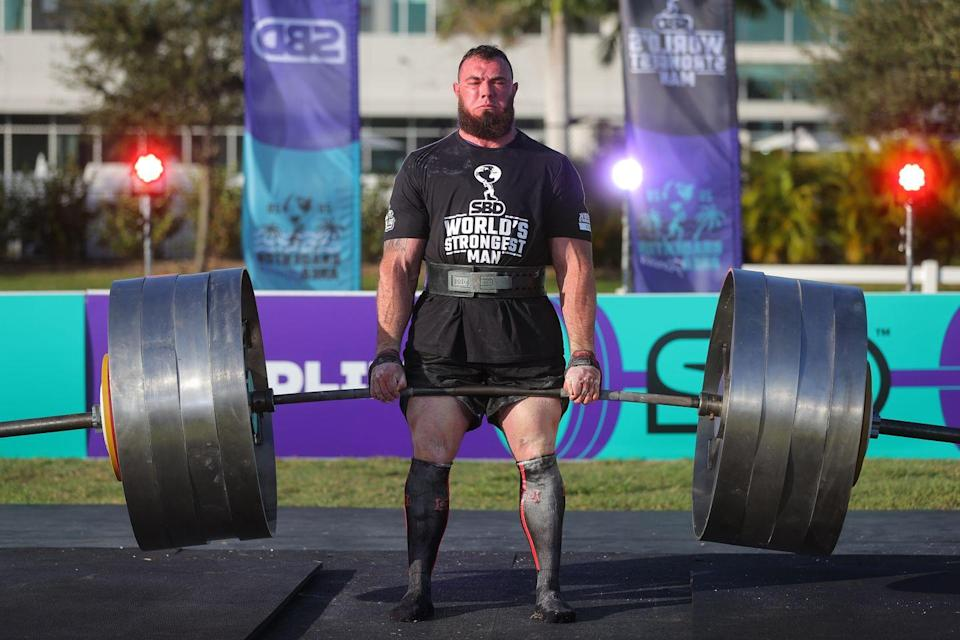 Photo credit: Courtesy of the World's Strongest Man