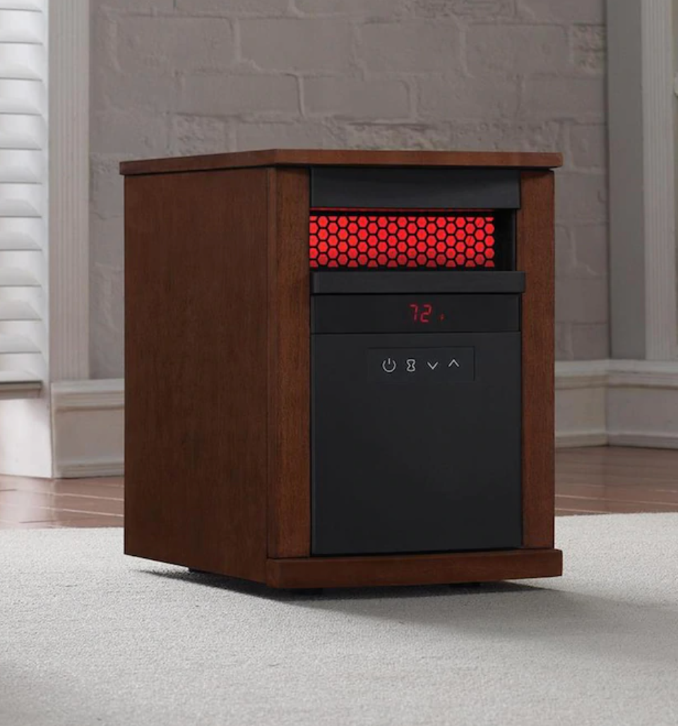 Duraflame 1500-Watt Cabinet Electric Space Heater (Photo via Lowe's)