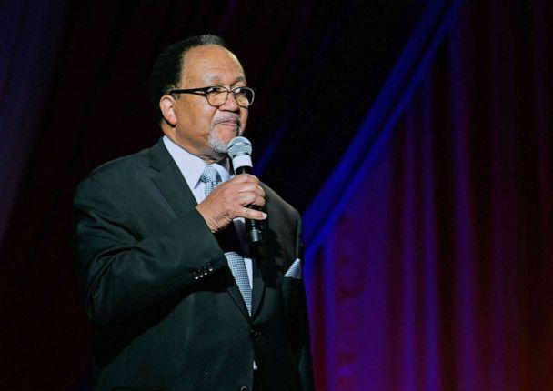 PHOTO: Dr. Benjamin Chavis speaks during a Diamond Empowerment Fund event at the Four Seasons Hotel Las Vegas  on May 28, 2015, in Las Vegas. (Bryan Steffy/Getty Images, FILE)
