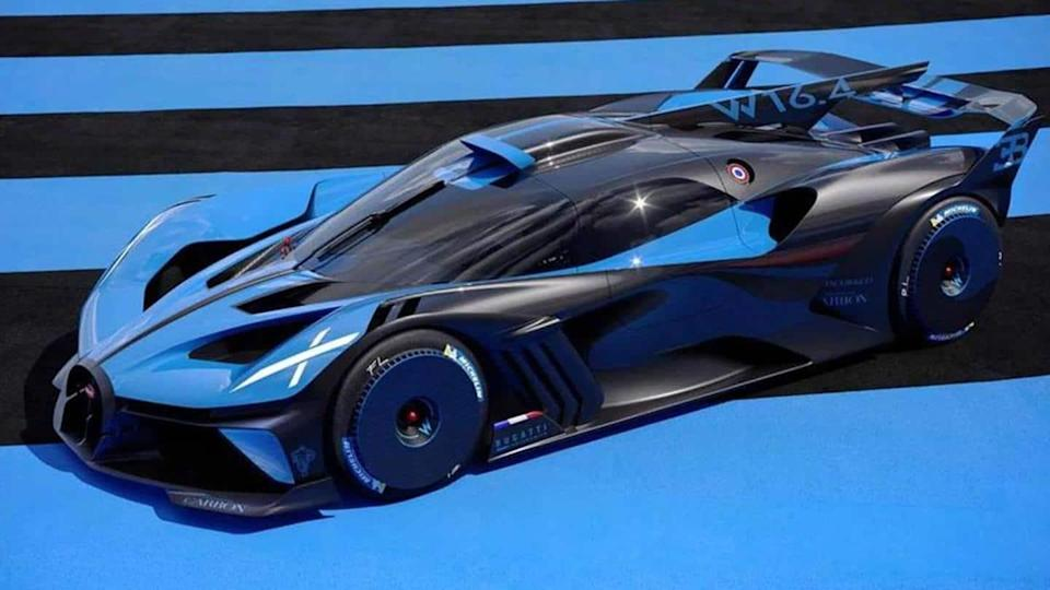 Bugatti unveils its lightest and fastest hypercar concept