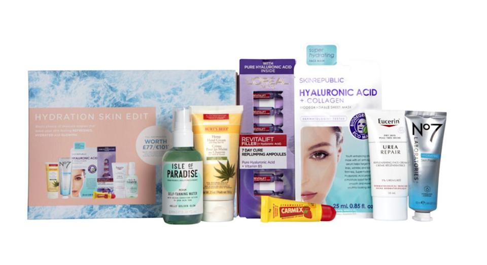 Skincare Hydration Beauty Box 2021