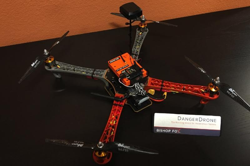 Meet Danger Drone – a flying computer designed to hack into all your unprotected devices