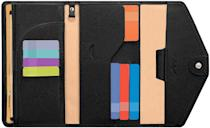 <p>The <span>Zoppen Multi-Purpose Rfid Blocking Travel Passport Wallet Tri-fold Document Organizer Holder</span> ($14) is something that will keep all their travel documents and essentials in one place. It can hold their credit cards, IDs, passport, boarding passes, phone, cash, and even their COVID-19 vaccination card and so much more. It comes in a variety of colors as well!</p>