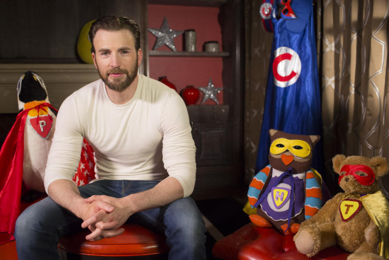 Captain America star Chris Evans follows in Tom Hardy's footsteps on CBeebies (BBC/Photographer: Pete Dadds)