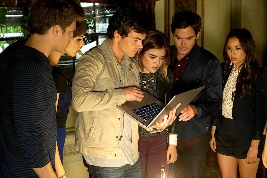 """<p><b>What's Coming Up:</b> """"There are two themes that we've been really exploring in Season 7. One is that it feels like this is a season of homecomings,"""" showrunner Marlene King says. """"It's also a season of reunions."""" That could be good news for shippers of Aria and Ezra, Spencer and Toby, and Hanna and Caleb. But don't count on all those reunions happening, King warns. And of course, there's the threat of the new A, dubbed """"Uber A. """"Uber A is the smartest, most twisted, and in some ways, loves the game more than any of the other As.""""<br /><br /><b>Endgame:</b> No official word on whether this is the final season of <i>PLL</i>, but if it is, it will go out with a bang. """"We wanted to make it the most dynamic and the most fun and the most romantic and in some ways, most twisted and the best season of the show ever, filled with WTFs and OMGs,"""" King says. """"We want to deliver a season that fans will be talking about for many, many years and hopefully feel very satisfied with the very dynamic ending we're going to give them."""" <i>— Kelly Woo</i><br /><br /><i>(Credit: Eric McCandless/Freeform)</i> </p>"""