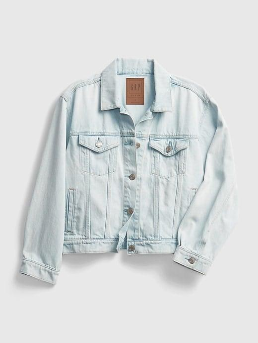 <p>I love the fit of a classic denim jacket. This <span>Gap Cropped Icon Denim Jacket</span> ($52, originally $70) in a light wash will be the perfect addition to my wardrobe.</p>