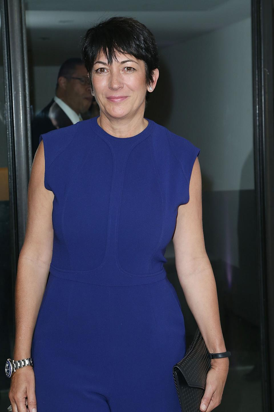 Ghislaine Maxwell pictured in 2016 in New York City. Source: Getty Images