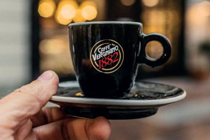 The Italian coffee roaster has roots dating back to 1882 ( Caffè Vergnano )