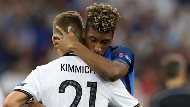 Bayern Munich's Joshua Kimmich and on-loan Juventus forward Kingsley Coman will stay despite being linked with Premier League clubs.
