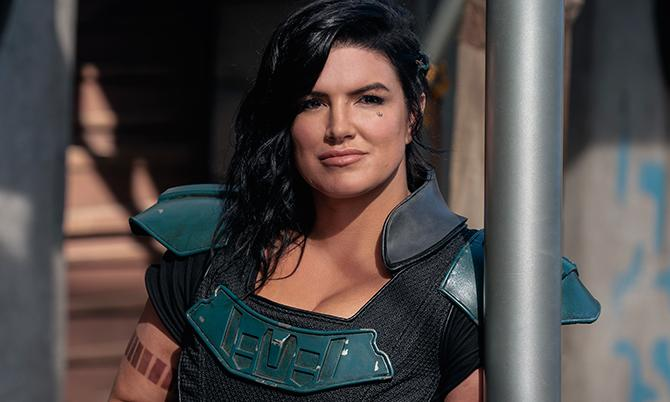 Gina Carano en The Mandalorian (Justin Lubin; ; Copyright: 2020 Lucasfilm Ltd ™ , All Rights Reserved)