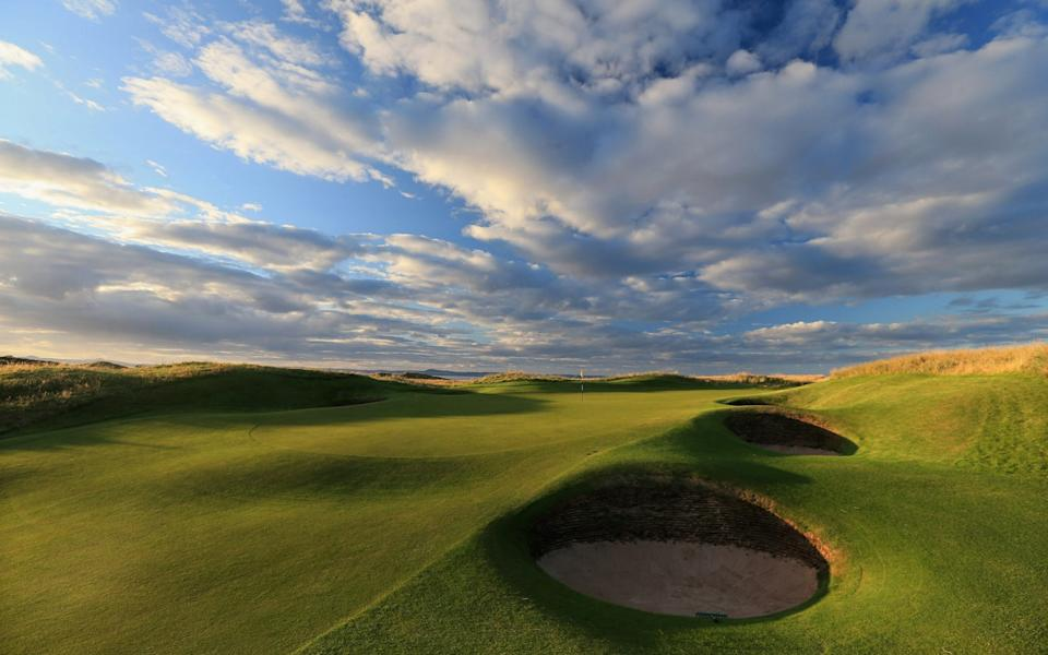The par 3, 13th hole at The Honourable Company of Edinburgh Golfers at Muirfield - David Cannon/Getty