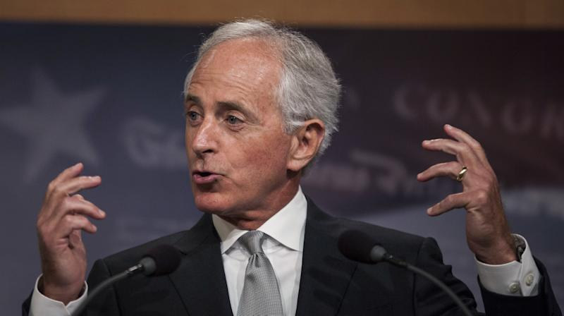 President Donald Trumpsaid on Sunday that Sen. Bob Corker (R-Tenn.) is retiring from office because Trump refused to endorse him for re-election next year ― a claim that a source familiar with the matter disputed.