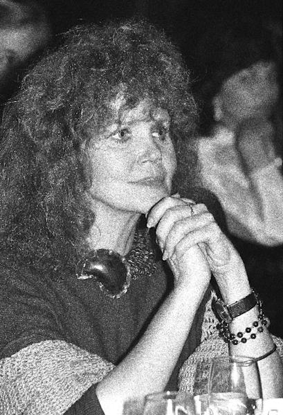 "FILE - This Nov. 7, 1983 file photo shows actress Eileen Brennan, star of ""Private Benjamin"" in Los Angeles. Brennan's manager, Kim Vasilakis, says Brennan, who is best known for playing Capt. Doreen Lewis in ""Private Benjamin,"" died Sunday, July 28, 2013, in Burbank, Calif., after a battle with bladder cancer. She was 80. (AP Photo/Nick Ut, File)"