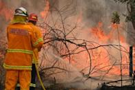 Prolonged�drought has left much of eastern Australia tinder dry and spot fires have raged every day