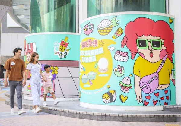 "Link's five malls in Tin Shui Wai are organising ""Love Living in Tin Shui Wai"", the first collaborative campaign with local character the Eye Bag Girl – Abel, to explore exhilarating ways to enjoy the community."