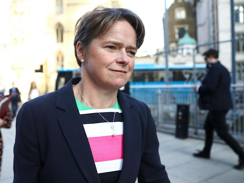 Dido Harding was appointed head of NHS Test and Trace in May 2020 (Reuters)