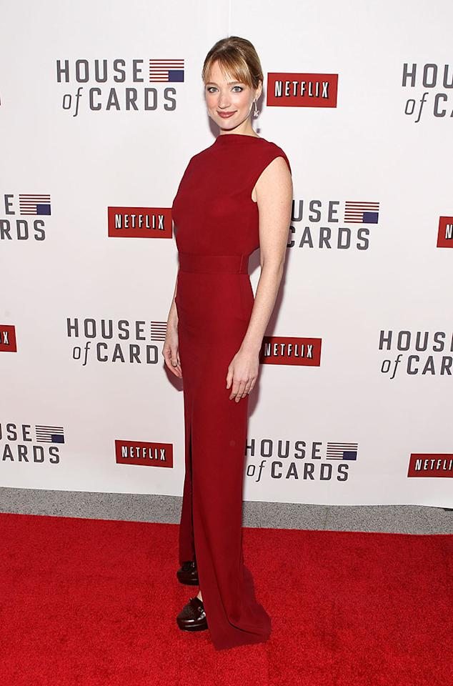"Kristen Connolly attends Netflix's ""House of Cards"" Washington DC Screening at the NEWSEUM on January 29, 2013 in Washington, DC."