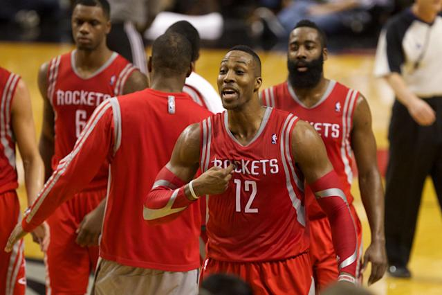 James Harden takes a page out of Dwight Howard's book, dubs rest of teammates 'role players'