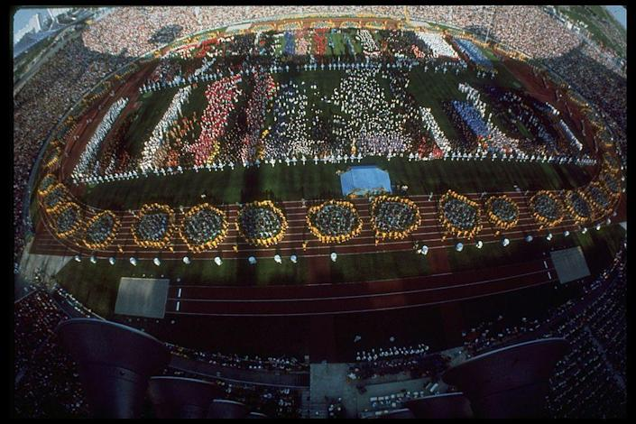 <p>During the opening ceremony, the Summer Games are the first to feature an official mascot, a woman taking the athlete's oath, and the first official's oath. Sadly these Olympics will forever be remembered for the horrific massacre of 11 Israeli athletes by the Black September offshoot of the Palestine Liberation Organization. </p>
