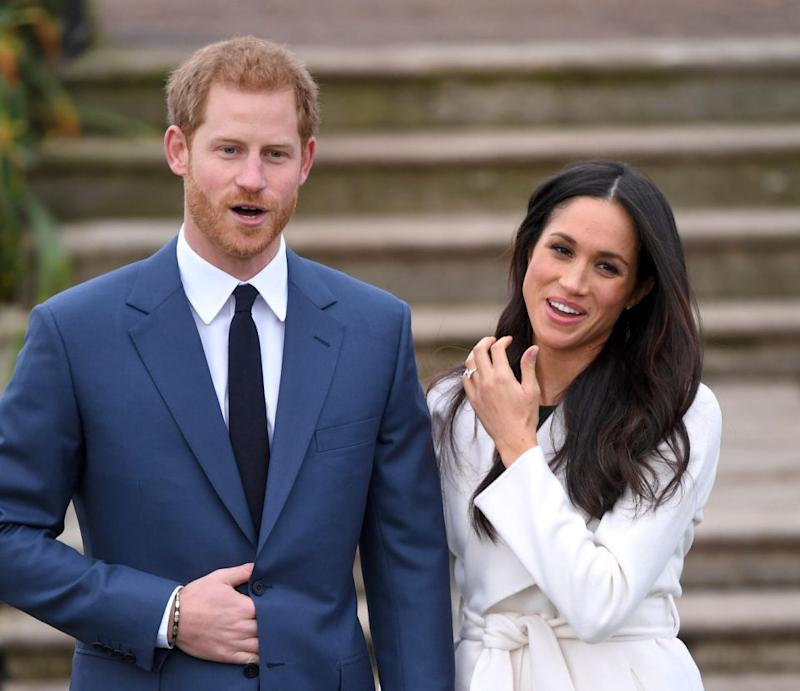 Meghan will probably take on a duchess, countess and princess title when she marries Harry. Photo: Getty