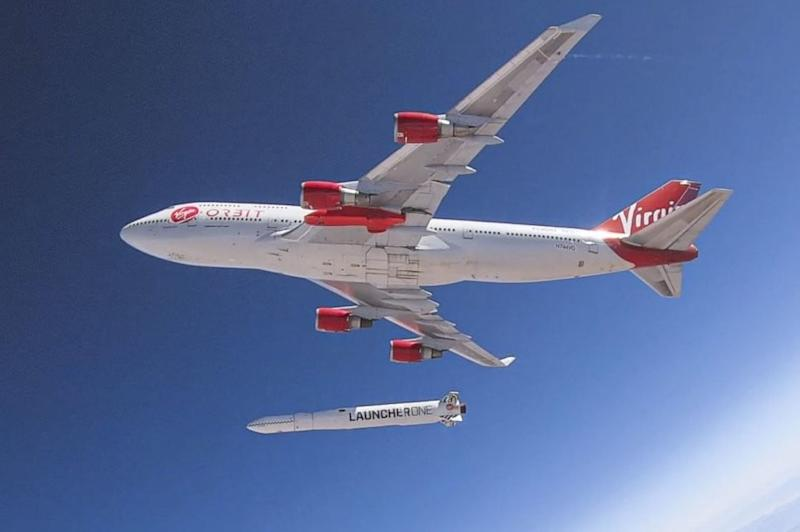 Virgin Orbit's first rocket launch from a Boeing 747 ends in failure
