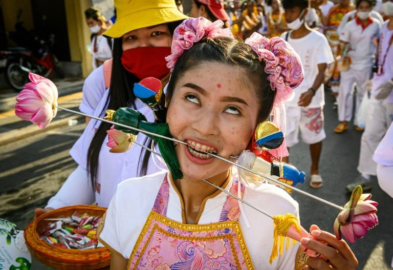 The festival is expected to draw hundreds of thousands of tourists to the southern Thai island, according to Kanokkittika Kritwutikon, the Phuket tourism authority director