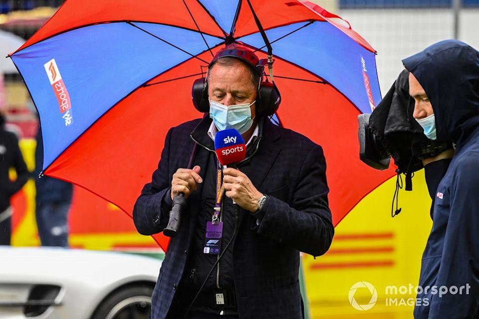 "Martin Brundle, Sky TV<span class=""copyright"">Mark Sutton / Motorsport Images</span>"