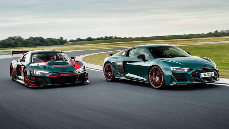 Audi R8 Green Hell Edition Front