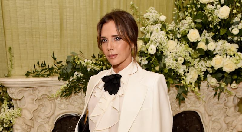 Victoria Beckham has marked husband David's birthday with a family video montage (Getty Images)