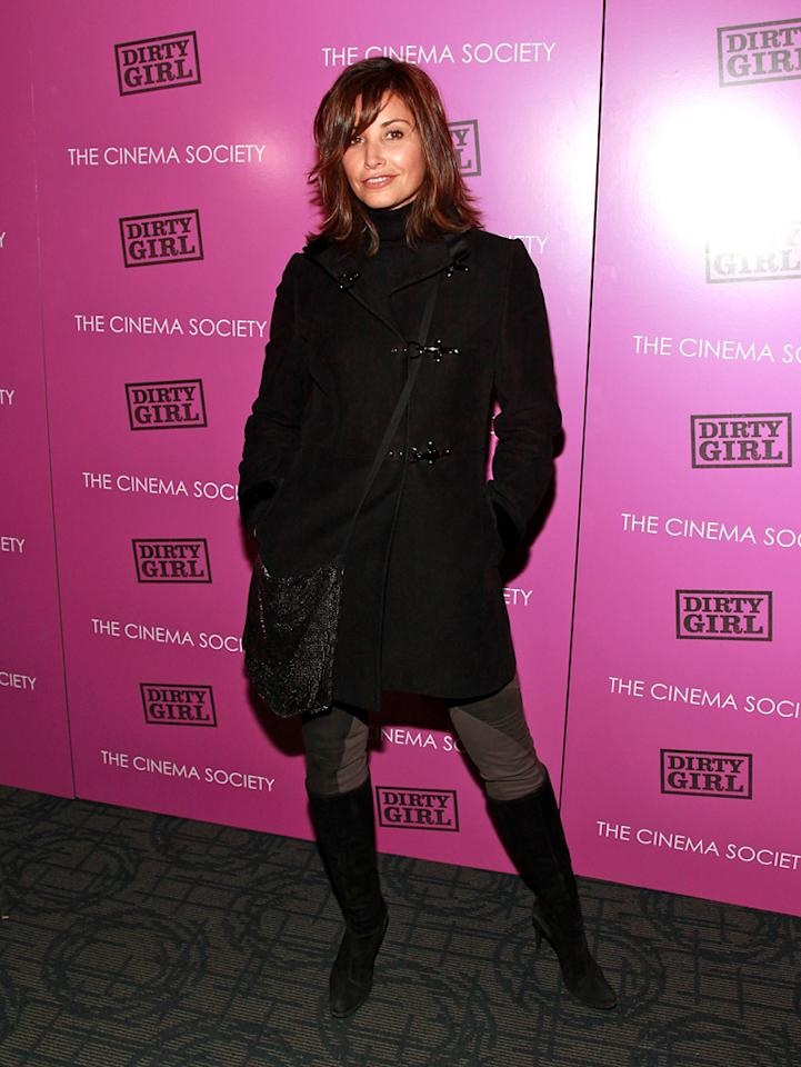 "<a href=""http://movies.yahoo.com/movie/contributor/1800011452"">Gina Gershon</a> at the New York Cinema Society screening of <a href=""http://movies.yahoo.com/movie/1810152298/info"">Dirty Girl</a> on October 3, 2011."