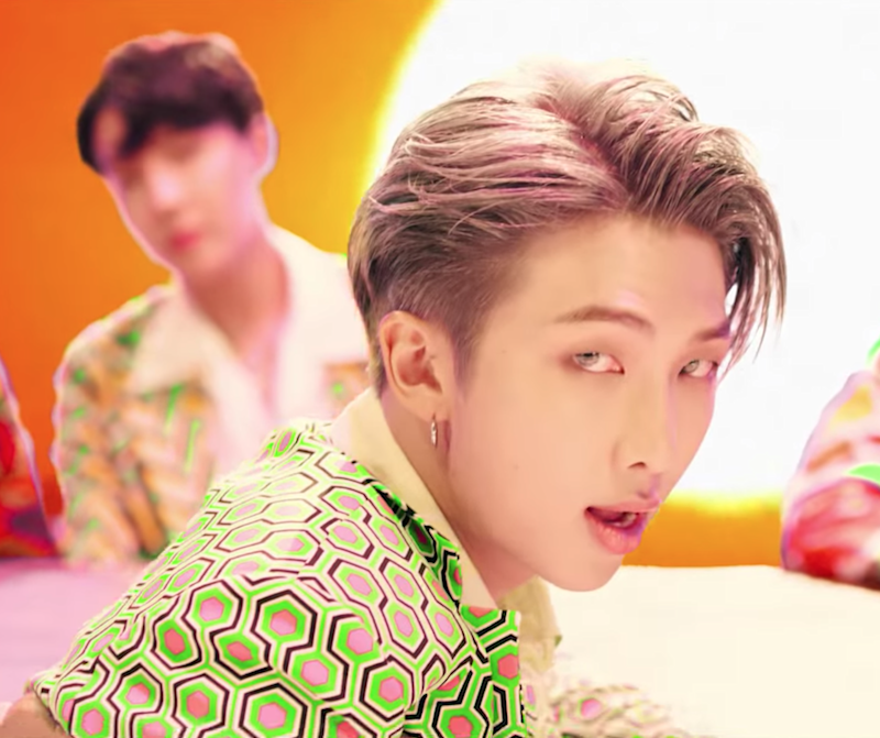 Bts Shows Off Amazing Hairstyles And Dye Jobs In Idol Music Video