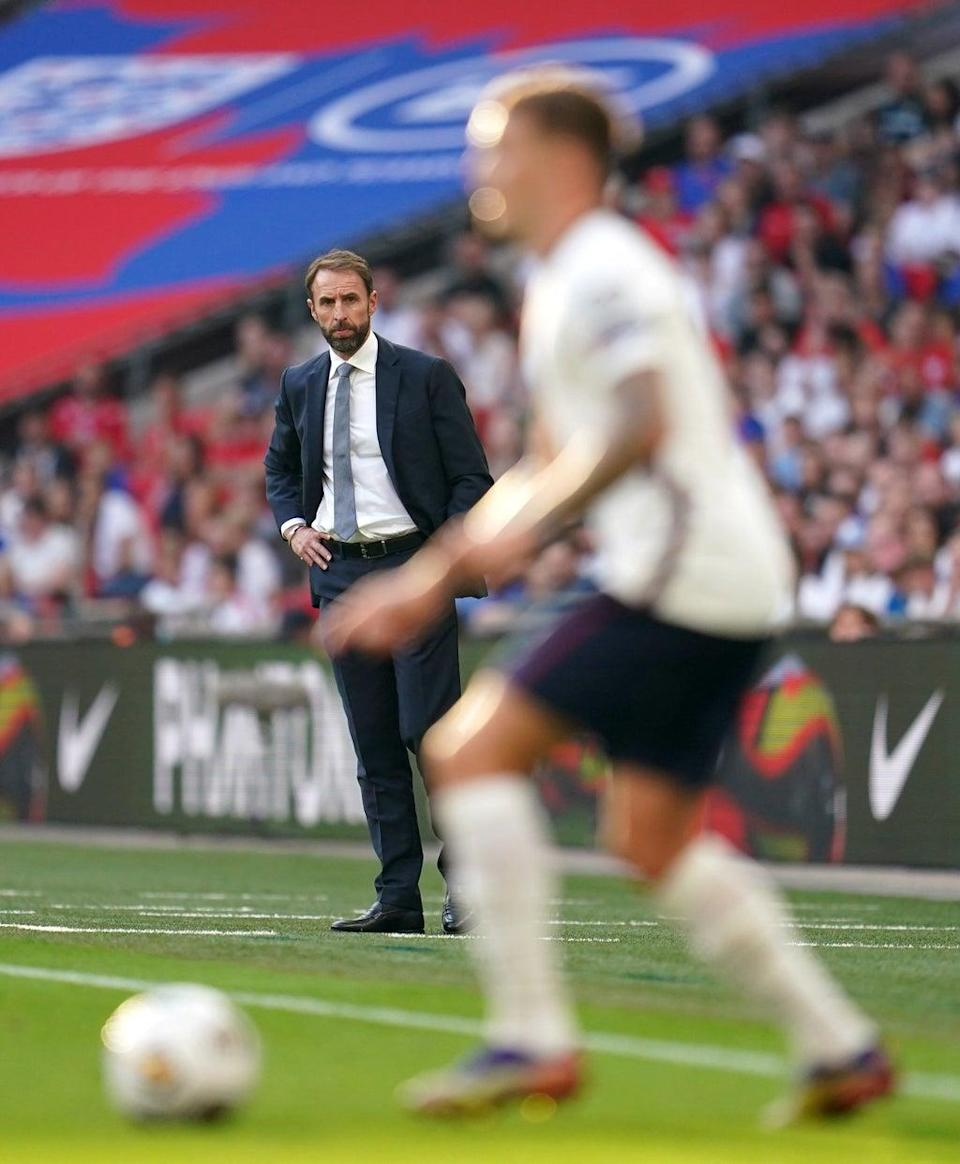 England manager Gareth Southgate said even players who have been vaccinated could end up missing games (Nick Potts/PA) (PA Wire)