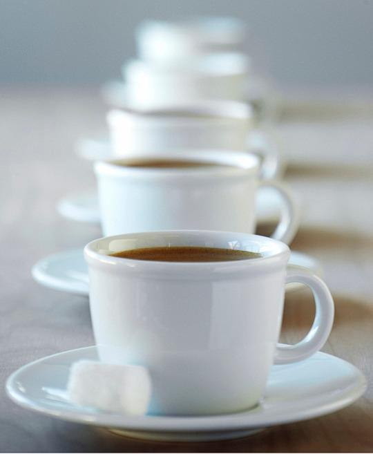 recommended daily caffeine intake for adults