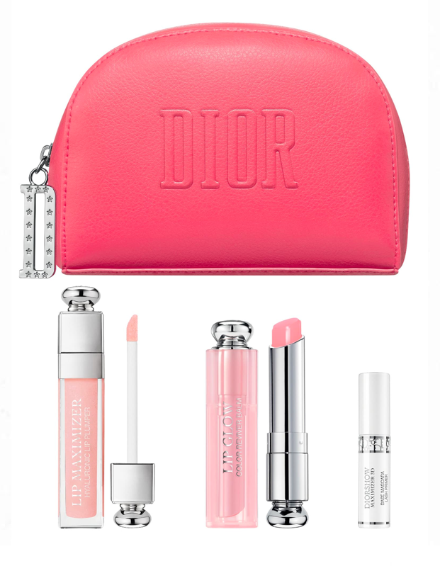 """While sadly our lips are hidden away under masks for now, it's still worth snagging these cult-favorite lip products from Dior. Even if just to wear them on Zoom. They're perfect for a juicy, glossy, effortless lip, and the makeup bag will be perfect to take on your first post-quarantine trip. $88, Nordstrom. <a href=""""https://www.nordstrom.com/s/dior-maximizing-lip-care-set-88-value/5586864"""" rel=""""nofollow noopener"""" target=""""_blank"""" data-ylk=""""slk:Get it now!"""" class=""""link rapid-noclick-resp"""">Get it now!</a>"""