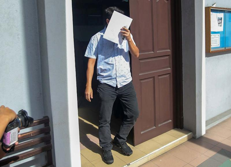 Telaga Setia Sdn Bhd managing director Chia Weng Chuen was fined RM40,000 for negligence after the death of one of the company's workers. — Picture by Farhan Najib