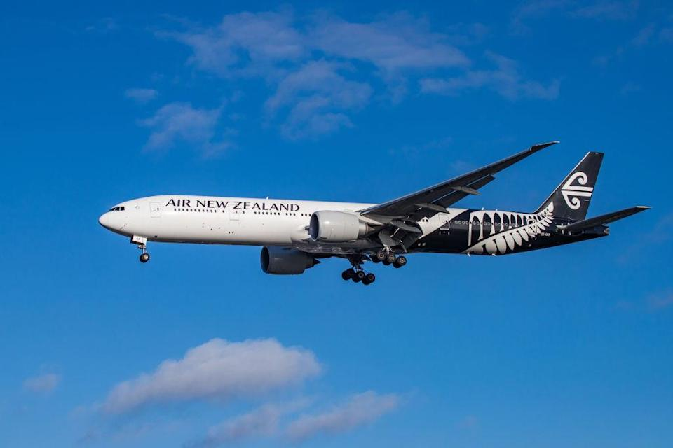 Air New Zealand is the flag carrier of New Zealand. (Photo by Nicolas Economou/NurPhoto via Getty)