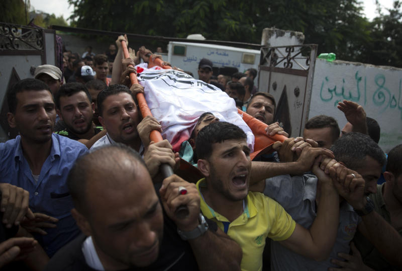 Protesters gather on Gaza frontier, Israeli fire wounds 77